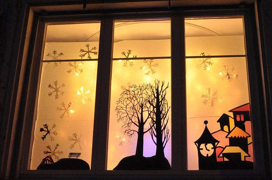 Adventsfenster aktion evangelisch lutherische - Adventsfenster gestalten ideen ...